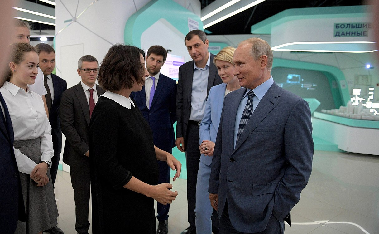 Vladimir Putin visited the Sirius Educational Centre (2018-09-01) 12.jpg
