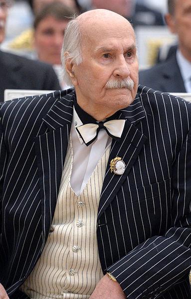 Владимир Зельдин в Кремле в 2015 году