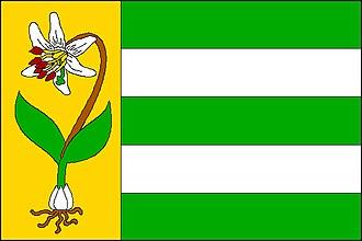 Hradištko (Prague-West District) - Image: Vlajka obce Hradištko