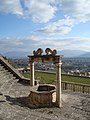 Vue depuis palais Barberini de Palestrina.JPG