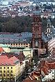 Würzburg, Blick von der Festung Marienberg zur Neubaukirche.jpg