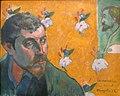 WLANL - jankie - Zelfportret met portret van Bernard, 'Les Misérables', Paul Gauguin (1888).jpg