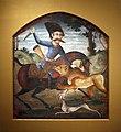 WLA brooklynmuseum Hunter on Horseback Attack by Lion.jpg