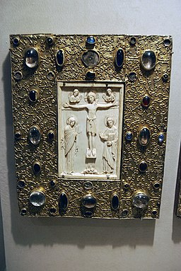 WLA metmuseum Book Cover with Byzantine Icon pre1085