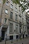 foto van Dubbel huis met fijn gelede zandstenen louis