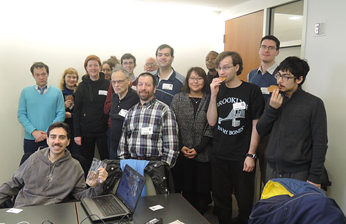 December meeting of NYC Wikipedians at NYU's NYLS building, 185 West Broadway, southwest conference room, 9th floor.