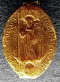 Wachssiegel Allerheiligen SH Abt Berthold III Wiechser 1450.jpg