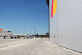 Waiting in the entrance of the new Iberia Hangar (5093683655).jpg