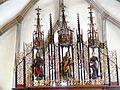 Waldburg Pfarrkirche - Hochaltar 5 Gesprenge.jpg