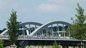 Waldschlößchenbrücke 2013 Dresden 004