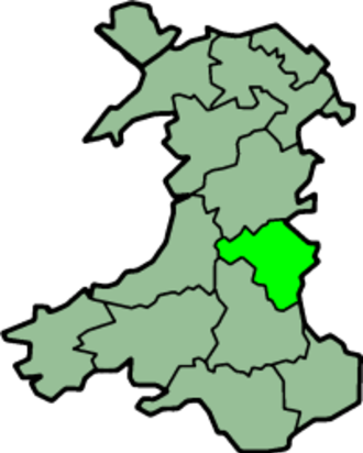 Radnorshire - Image: Wales Radnorshire Trad