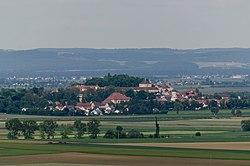 Wallerstein, Panorama von Westen, 001.jpg