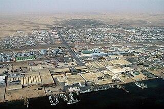Walvis Bay City in Erongo Region, Namibia