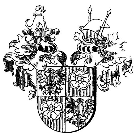 Coat of arms of the Counts of Barby Wappen Grafen von Barby.jpg