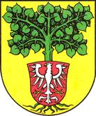 Das Wappen von Lindow (Mark)
