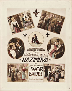 <i>War Brides</i> (film) 1916 film by Herbert Brenon