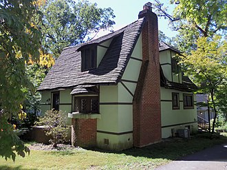 Washington Grove, Maryland - The Washington Grove Historic District in September 2012.