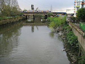 Waterworks River - The river in 2008