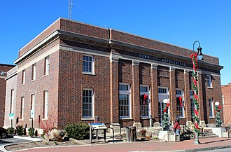 Waynesville Municipal Building - Former U.S. Post Office Building (now the Municipal Building)