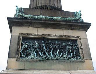 Wellington's Column - Relief of the battle of Waterloo