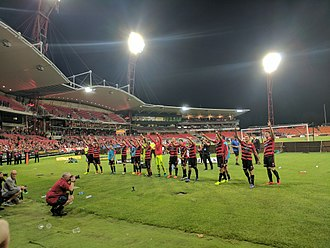 Western Sydney Wanderers FC - Sydney Showground Stadium, current home ground of Wanderers.