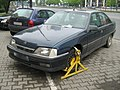 Wheel clamp on Opel in Warsaw 1.jpg