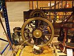 Wheel from HMAS Melbourne at the Treloar Technology Centre Sept 2012.JPG