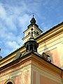 Wieliczska, kostelní věže.JPG