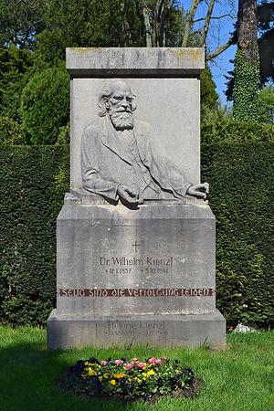 Wilhelm Kienzl - Grave of Wilhelm Kienzl at the Vienna Central Cemetery