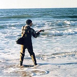Surf fishing - Surf Fisherman
