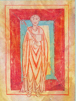 William of Hirsau - William of Hirsau, from the cartulary of Reichenbach Priory