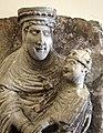 Wiligelmo, madonna dei cattania, 1100-1120 ca., dalla sagra di carpi 02.jpg