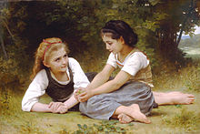 William-Adolphe Bouguereau, As Apanhadoras de Nozes, 1882