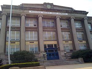 William Allen High School - Image: William Allen High School, Allentown PA