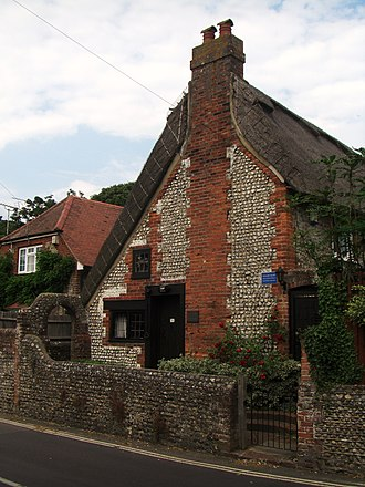 Felpham - The cottage in Felpham where William Blake lived from 1800 till 1803.
