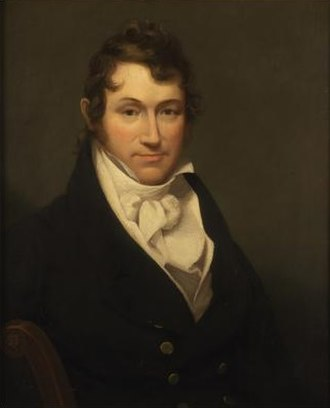 William Coleman (editor) - William Dunlap painting, circa 1810.  Collections of the New-York Historical Society.