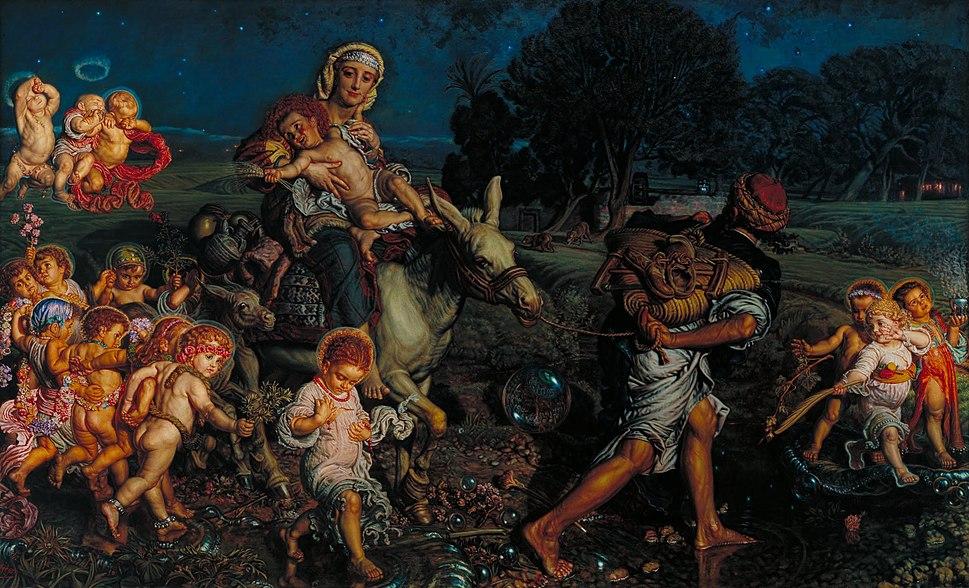William Holman Hunt - The Triumph of the Innocents - Google Art Project