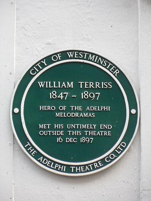 William terriss 1847 1897 green plaque