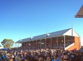Alberton Oval - Williams Family Stand in 2018.