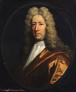 Sir Willoughby Hickman, 3rd Baronet English Member of Parliament (1659-1720)