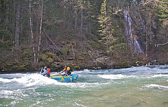 Wind River (Washington) - Rafting the Wind River