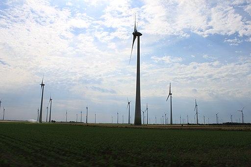 Windpark Andau-Halbturn; Burgenland; Österreich