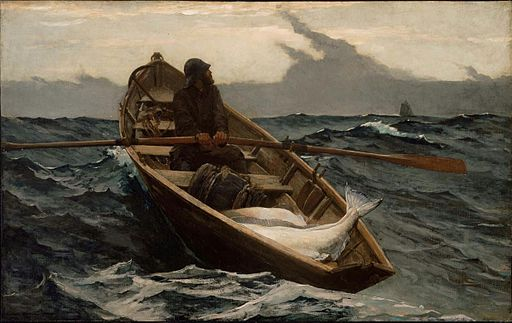 Winslow Homer - The Fog Warning (1885)