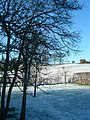 Winter view at the back of Beechfield looking west across the conservation area - geograph.org.uk - 467889.jpg