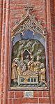 Wismar, St. Nikolai, Holzrelief Anbetung der Könige.JPG