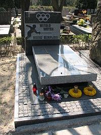 Witold Woyda grób.JPG