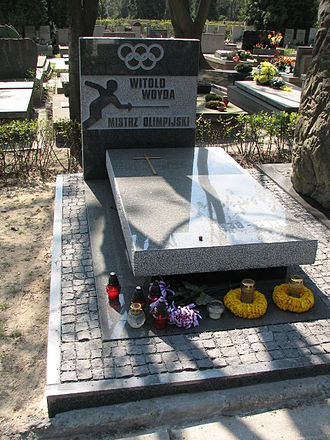 Witold Woyda - Woyda's grave in Warsaw