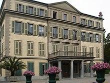 Wohnhaus von Voltaire in LausanneEnde der 1750er-Jahre (Quelle: Wikimedia)