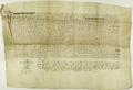 Wojciech Strzeskonis notariusz publiczny, transumuje przywileju z 1390.II.3, dotyczący sprzedaży sołectwa w Górczynie.png