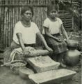 Woman and girl in el salvador making bread.png